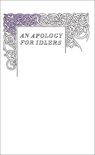An Apology for Idlers (Penguin Great Ideas)