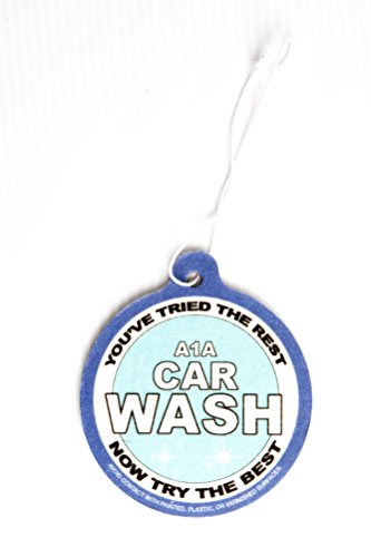 A1A Carwash Air freshener as seen on Breaking Bad
