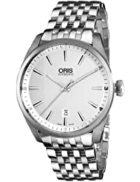 Artix Date Mens Stainless Steel Automatic Watch 73376424051MB · Oris