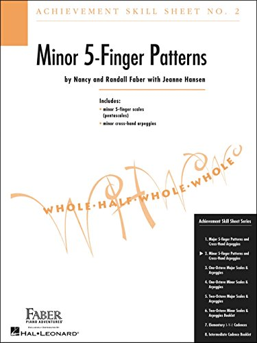 Faber Piano Adventures Achievement Skill Sheet No.2: Minor 5-Finger Patterns - Faber Piano ()