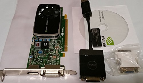 Genuine NVIDIA Quadro 600 PCI-E VIDEO CARD Desktop 1GB - Video 600 Card