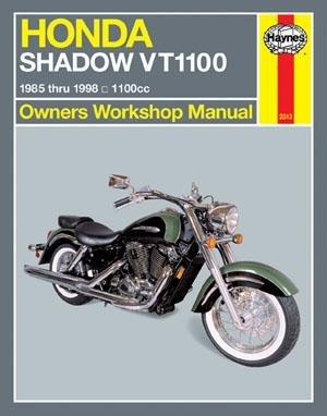 Haynes Manuals Hon Shdw 1100 85-98 M2313