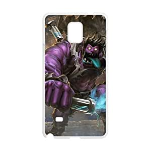 samsung galaxy note4 phone case White League of Legends DrMundo EER7576538