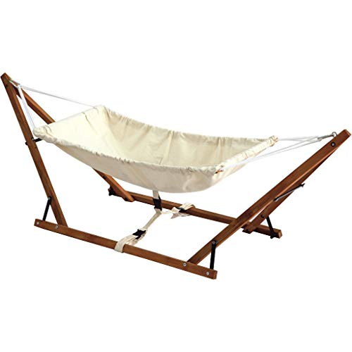 Baby Hammock Cradle 100% Cotton Cribs Travel babyhammock Wooden Swing Foldable