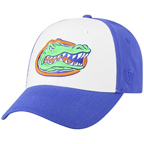 Top of the World NCAA-Premium Collection Two Tone-One-Fit-Memory Fit-Hat Cap- Florida Gators