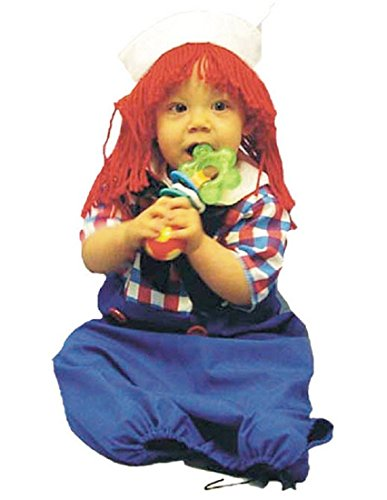 Costumes 124382 Raggedy Andy Bunting Costume ()