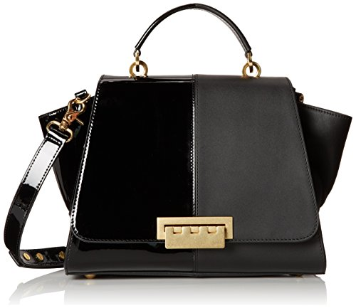ZAC Zac Posen Eartha Soft Top Handle Satchel Black One Size