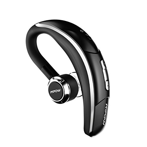 Amazon Lightning Deal 80% claimed: Mpow Wireless Bluetooth 4.1 Headset Headphones with Clear Voice Capture Technology for iPhone 7/ 7 Plus/ 6s / 6 Plus / 5, Galaxy Note 4 S6 and other Cellphones