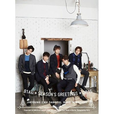 - B1A4 [2015 SEASON'S GREETINGS] Package DVD + Calendar + Diary + Postcard + Mini poster calendar K-POP
