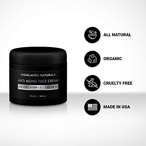 Anti Aging Face Cream for Men - Anti Wrinkle Face Moisturizer and Facial Lotion - Advanced Skin Care for Younger Looking… 4