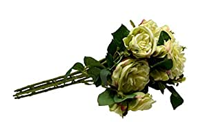 Rose Flowers Artificial Plants 7/Heads Bridal Wedding Party Decor Bouquet Real Touch Artificial Flower Bunch