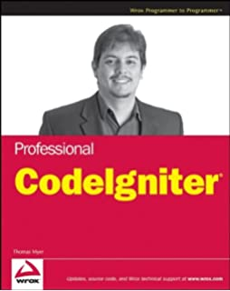 Codeigniter for rapid php application development improve your php professional codeigniter fandeluxe Image collections