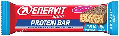 Enervit - SPORT Protein Bar 25 x 40g Riegel Coco Choc
