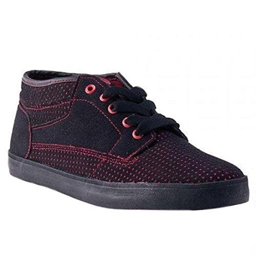 Osiris Skate Shoes Chaveta Black Red BRZ 61TGeJR6