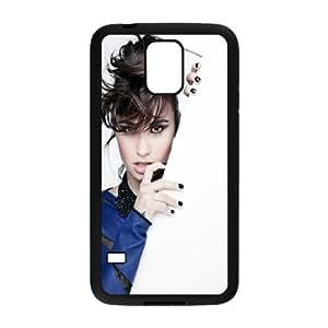 Custom Cover Case Fashion Demi Lovato Time For Samsung Galaxy S5 SXSWV947810