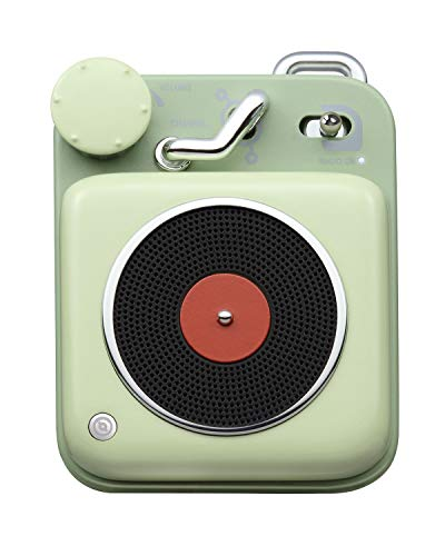 Muzen Audio Key Lime Button Portable Wireless High Definition Audio Bluetooth Speaker – Classic Vintage Retro Design