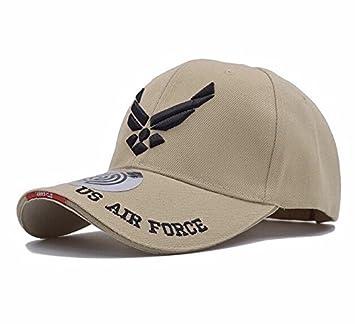 Militar-TLD Gorra béisbol táctica de élite de estilo militar ejercito caza airsoft Viper, hombre, marrón, talla única Envio 24 horas (AIR FORCE): Amazon.es: ...
