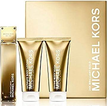 Michael Kors 24K Brilliant Gold Set 3.4 Edp 3.4 Bl 3.4 Bw