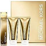 Michael Kors 24K Brilliant Gold Set 3.4 Edp + 3.4 Bl + 3.4 Bw