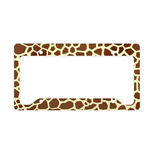Giraffe License Plate Frames Kritters In The Mailbox
