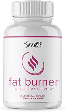 Premium Thermogenic Fat Burner Weight Loss Pills - Energy Boost, Appetite Suppressant, Carb Blocker, Natural Green Tea Extract Detox Cleanse and Keto Boost Supplement for Women Men (60 Capsules)