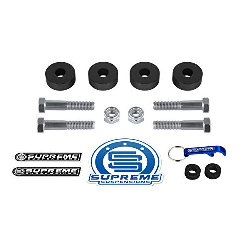 Supreme Suspensions - Differential Drop Kit for Chevy Silverado 1500 [4WD] and GMC Sierra 1500 [4WD] CNC Machined Diff Drop Kit (Including ()