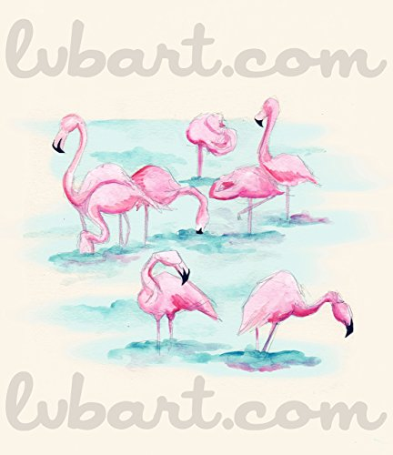 Flamingos Fine Art Print]()