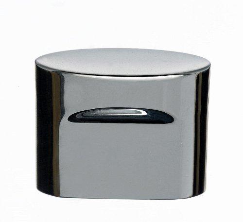 (Top Knobs TK73PC Oval Slot Knob Chrome )