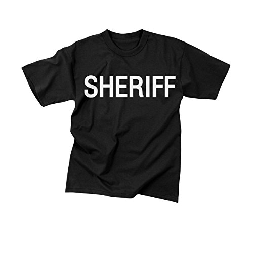 Sheriff Black Official Issue Double-Sided Raid T-Shirts