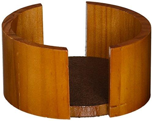 Circular Coaster Holder - Thirstystone Circular Oak Coaster Holder