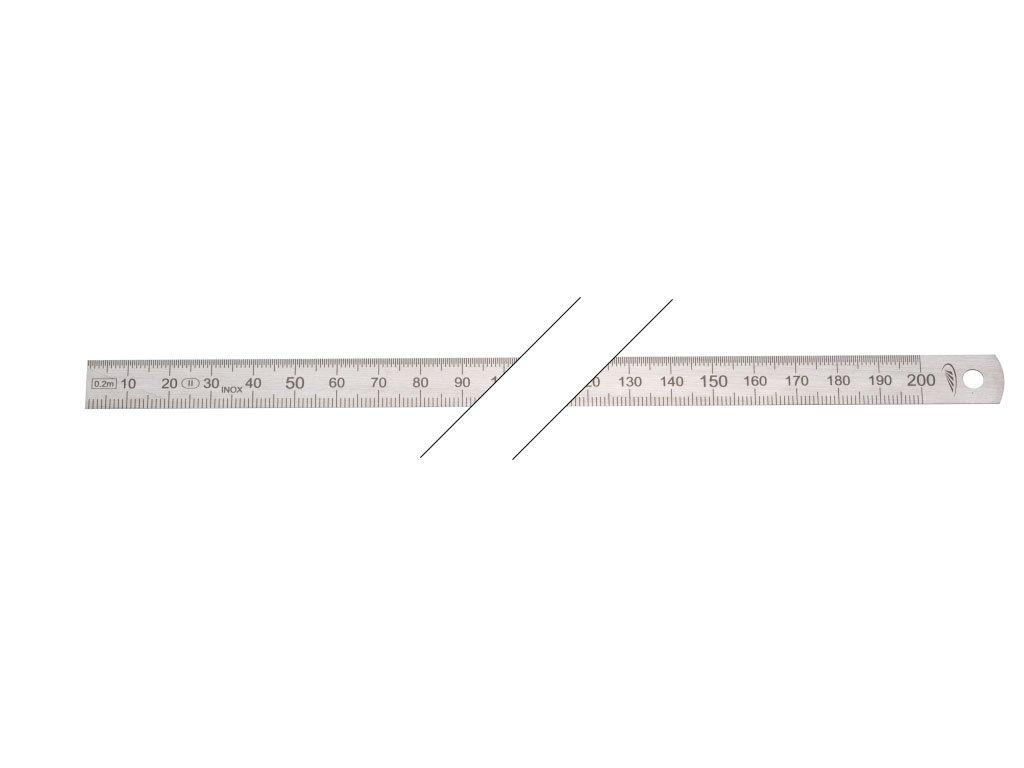 Acero HELIONS a la escala n.c.o.p, EG-protecció n precisió n II, 1000 x 20 x 0,5 mm, 0460226 EG-protección precisión II HELIONS PREISSER
