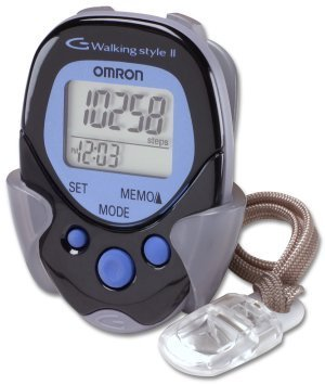 Omron Hj-113 Pocket Pedometer, Walking Style, Black Hj113 Fast Shipping Ship Worldwide (Omron For Pedometer Walking)
