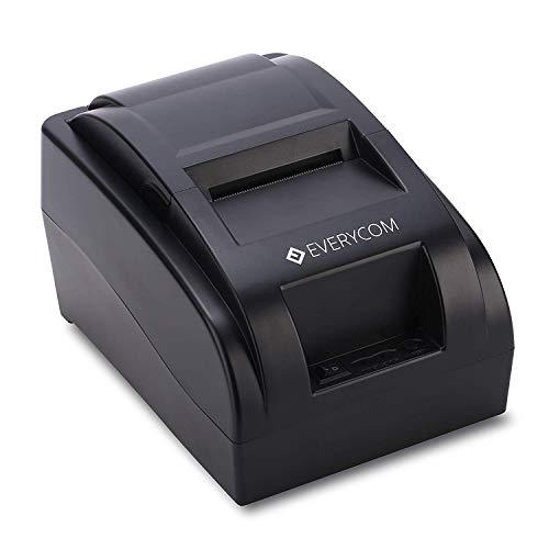 Everycom EC-58 58mm (2 Inches) Direct Thermal Printer USB – Monochrome Desktop (1 Year Warranty)