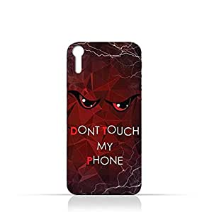 Sony Xperia XZ TPU Silicone Case With Don't Touch My Phone 3 Design