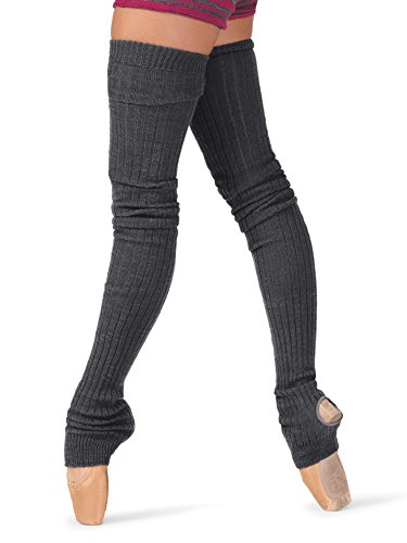 Body Wrappers Dance Clothes - Body Wrappers Women's 48 Extra-Long Stirrup Legwarmers,Burgundy,One Size