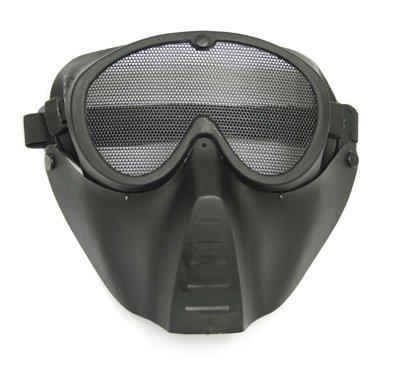 Airsoft black face mask