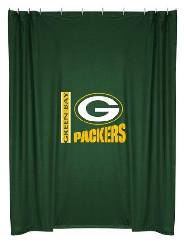 Nfl Green Bay Packers Shower Curtain Home Garden Bathroom