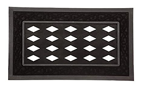 Evergreen Flag 431000A Doormat Tray, Black