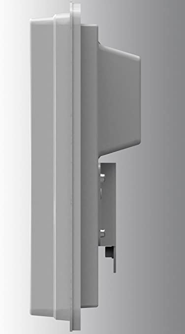 Selfsat H30 D2 Twin - Antena Plana y LNB, Color Blanco