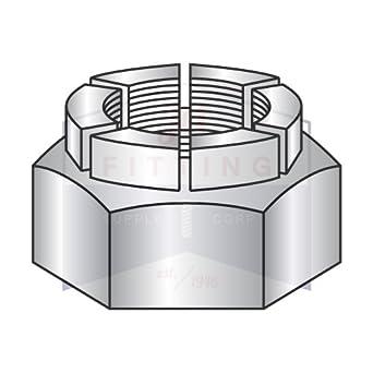 flex type lock nuts heavy hex full height steel cadmium plated
