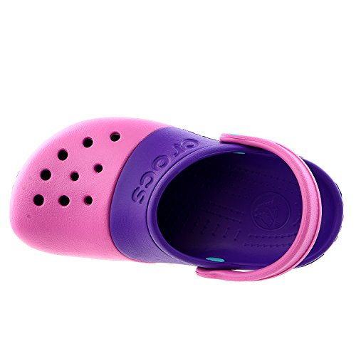 Crocs Kids' Electro Ii Clog (Infanttoddlerlittle Kid),party Pinkneon Purple,13 M Us Little Kid
