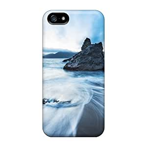 High-quality Durable Protection Cases For Samsung Galaxy S5 I9600/G9006/G9008(golden Gate Bridge View From Marshall Beach)