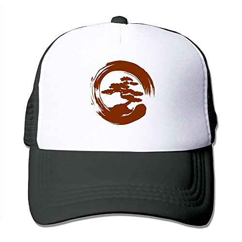 Adjustable Men's Women's Mesh Cap Bonsai Tree Baseball Caps Hip Hop Caps
