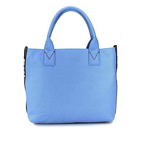 1h20dsy4c9e82 Mujer Tela Pinko Claro Bolsas Azul 5znUgqq4S