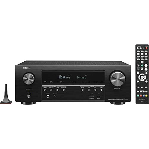 Denon AVRS730H 7.2 Channel AV Receiver with Built-in HEOS wireless technology, Works with Alexa...