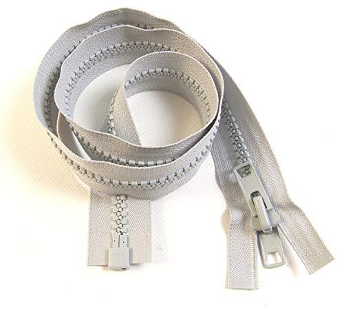 YKK Zipper, Gray 30