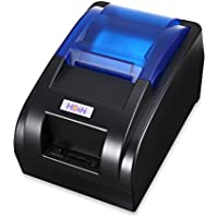 Small note printer cashier takeaway Bluetooth printer black