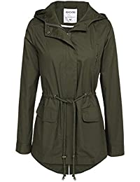 Green Pea Coat Womens