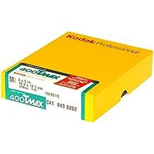 Kodak 843 8202 400 TMAX Professional ISO 400, 4X5 (50 Sheets) Black and White Film (Yellow)