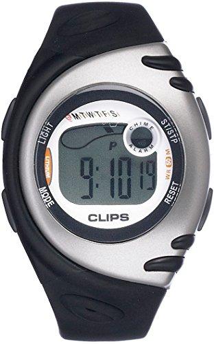 Clips Damen-Armbanduhr Digital Quarz Kautschuk 539-1002-84